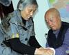新余市电工厂社区七旬老太李美娟照顾瘫痪老伴20年